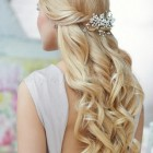 Wedding hair styles half up