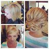 Wedding updo hairstyles short hair