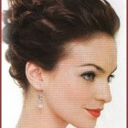 Wedding updos for short hair