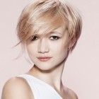 Women short haircut