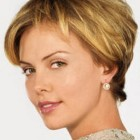 Women with short hair styles
