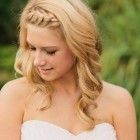Bridal hairstyles medium hair
