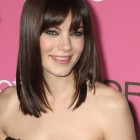 Cute medium length haircuts with bangs