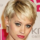 Short layered haircut women