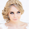 Stunning wedding hair