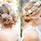 Wedding hair braided