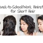 5 hairstyles for short hair