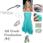 Hairstyles 8th grade graduation