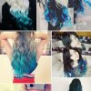 Hairstyles dyed