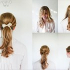Hairstyles every girl should know