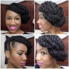Hairstyles using marley hair