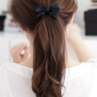 Hairstyles with bows