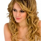 Hairstyles with curls
