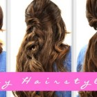 4 easy hairstyles
