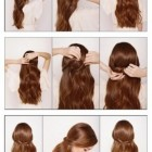 7 hairstyles for lazy girls