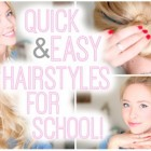 Hairstyles 2015 for school