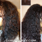 Hairstyles after taking out braids