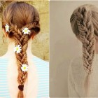 Hairstyles braids for long hair