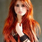 Hairstyles for red hair