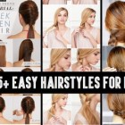 Hairstyles long hair easy