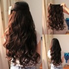 Hairstyles with clip in extensions