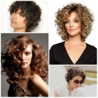 Curly short haircuts 2017