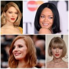 Latest celeb hairstyles 2017