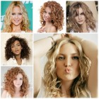 Medium curly hairstyles 2017
