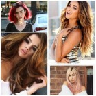 Popular hair colours 2017