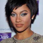 Short black haircuts for women 2017