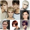 Short straight hairstyles 2017