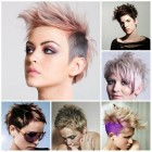 Trendy short hairstyles for women 2017