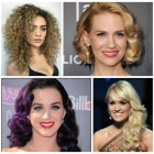 Curly hairstyles 2019