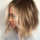 Short blonde hairstyles 2019