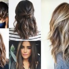 Shoulder hairstyles 2019