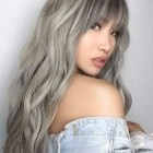 Long hairstyles with bangs 2020