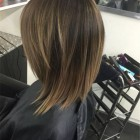 Medium layered haircuts with bangs 2020