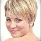 Short hairstyles for round faces 2020