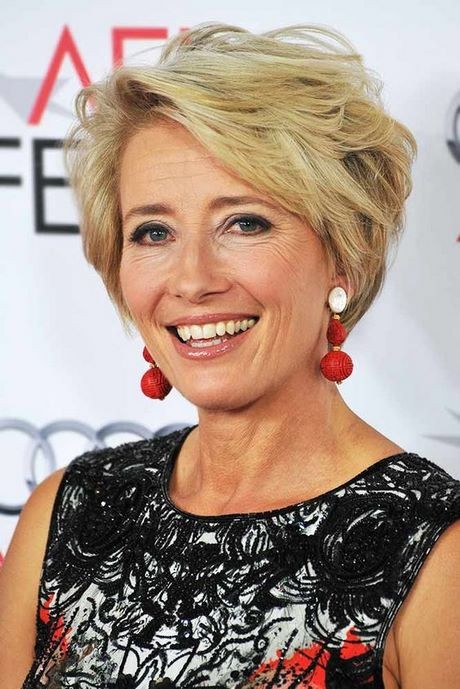Short hairstyles women over 50 2020