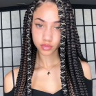 2021 black braid hairstyles