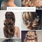 Hairstyles for weddings 2021
