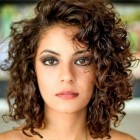 Medium curly hairstyles 2021