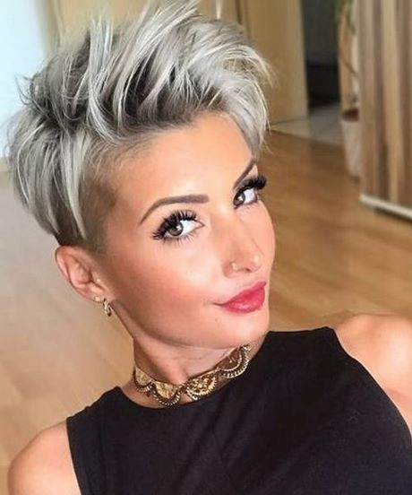 Short cropped hairstyles 2021