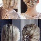 Short hair wedding styles 2021