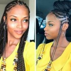 2019 black braid hairstyles
