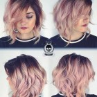 Hair colours for short hair 2019