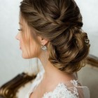 Hairstyle for bride 2019
