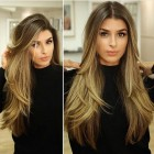 Long hair cut style 2019