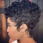 Short haircuts for black hair 2019