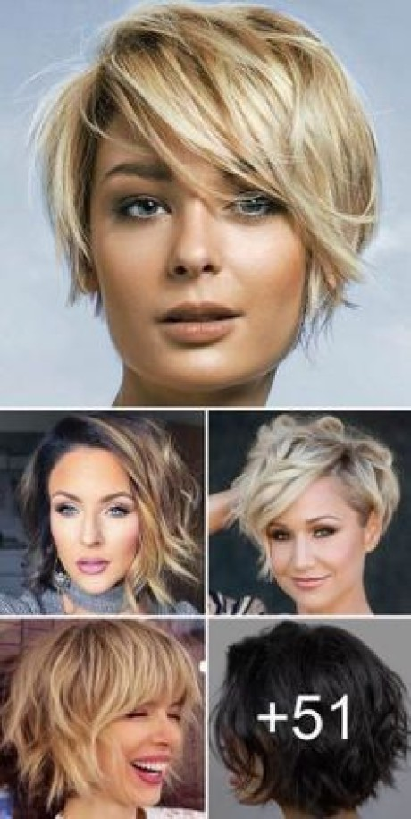 Short hairstyle trends for 2019